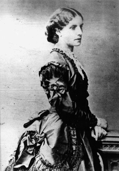 PHOTOGRAPH OF MARY (BUTLER) COOPER courtesy of Mrs.June Nixon